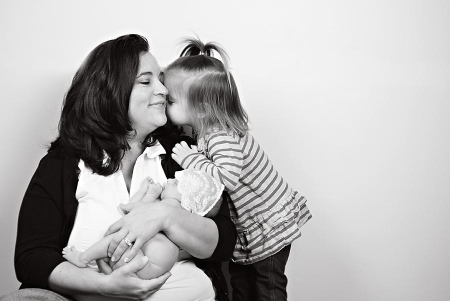 Greenville, SC Newborn Photographer: Daddy's Girls
