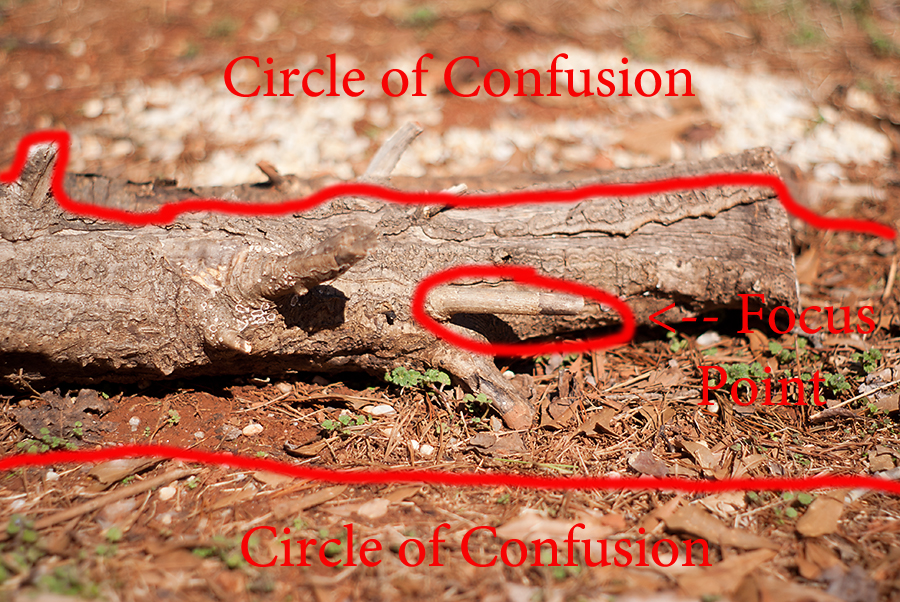 Depth of Field: Circle of Confusion