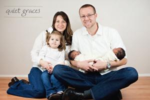 Sleepy Newborn Twins Photography Greenville, SC