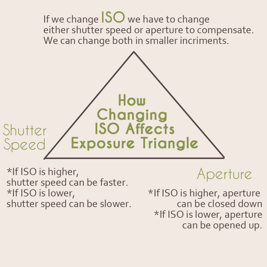 How Changing ISO Effects the Exposure Triangle