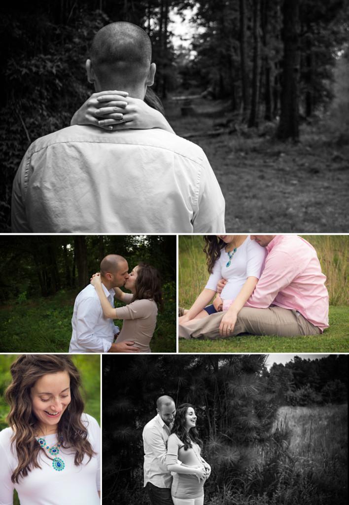Emotional Simpsonville SC Maternity Photographer