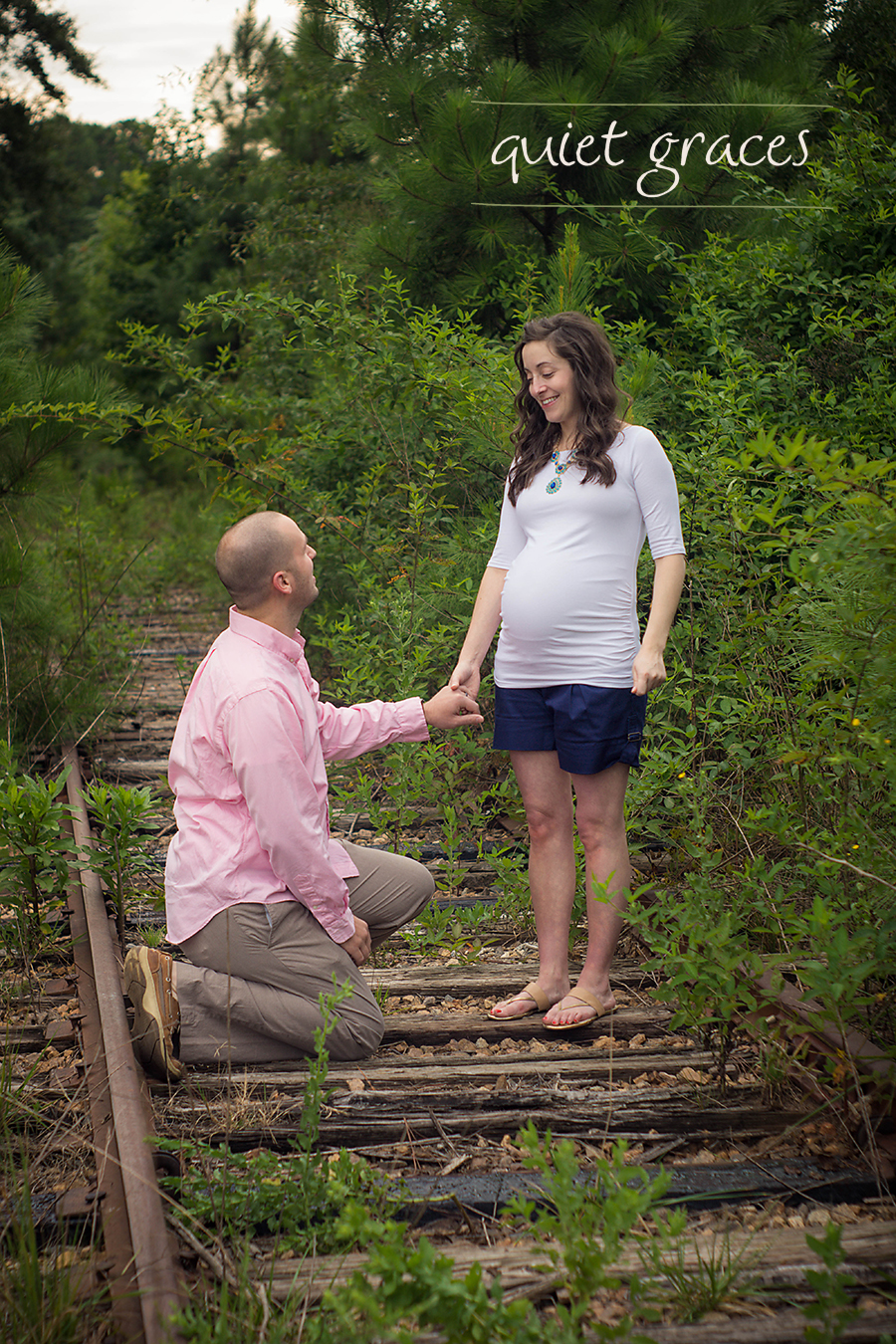 Greenville SC Beloved Maternity Photographer.  A Beloved Maternity Session focuses on creating an experience for the couple to reignite their love and prepare for birth.