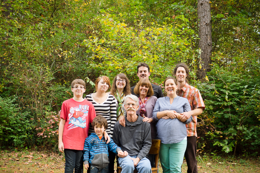 Fun Family Reunion Photography Greenville SC