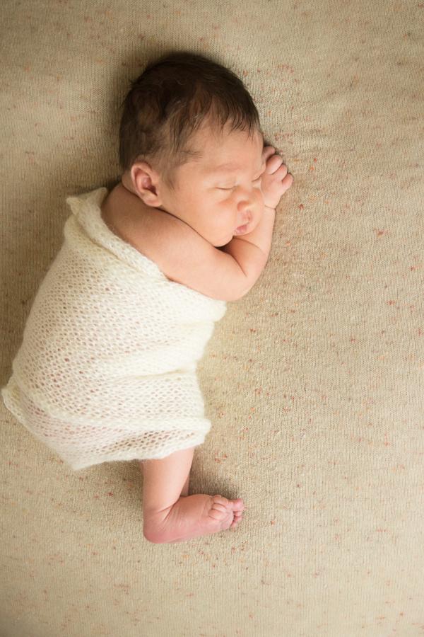 Organic Sleepy Newborn PicturesGreenville SC