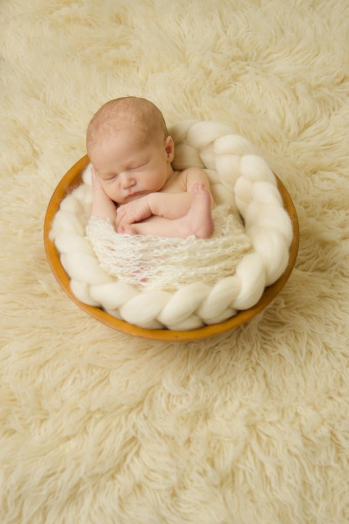 Greenville SC Sleepy Newborn Photographer