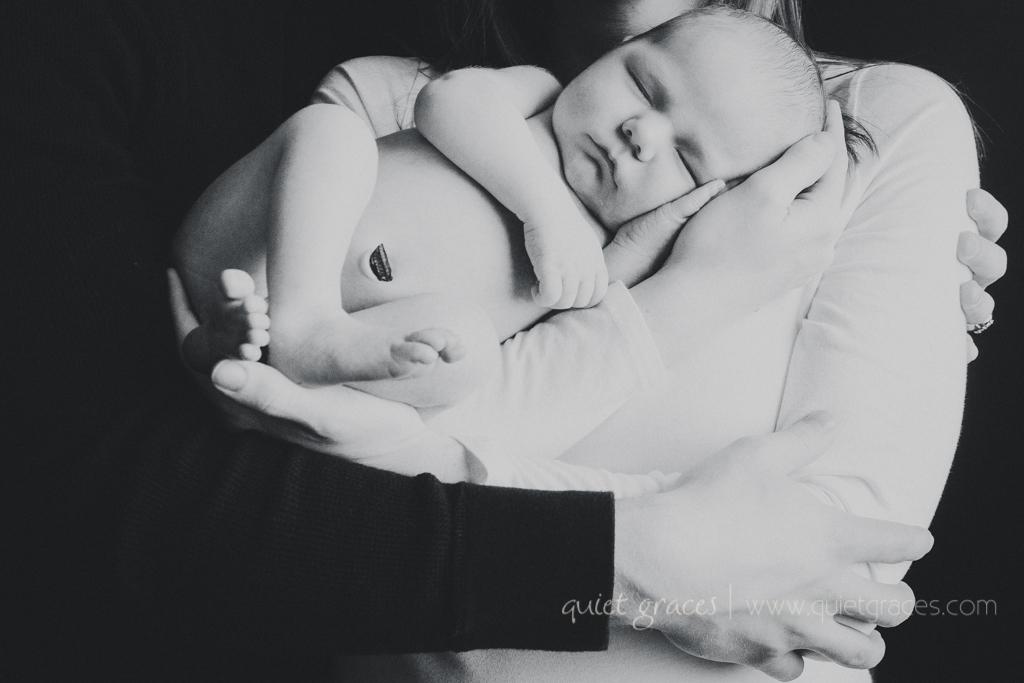 Natural Newborn Baby Photographer Greenville SC