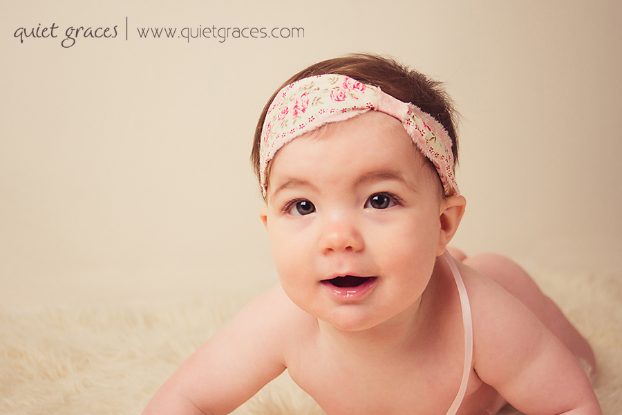 Greenville SC 6 Month Old Baby Photographer