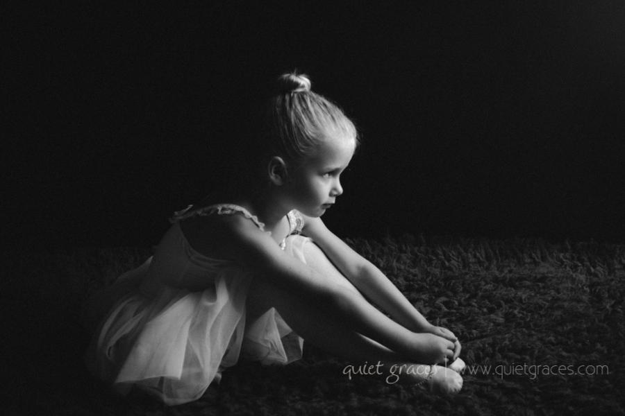 Greer SC Child Photography Studio Tiny Ballerina