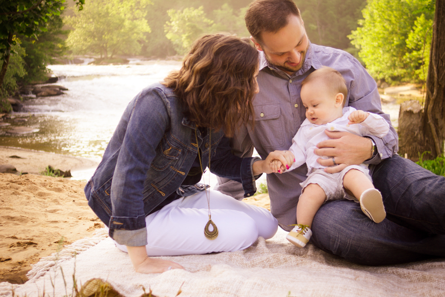 Greenville SC First Year Photography Package