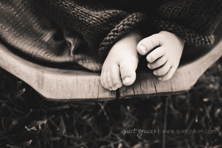 Pure Simple Outdor Newborn Baby Pictures Greenville SC