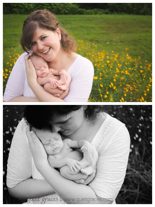 Pure Simple Baby Photography Greenville SC Mom with baby