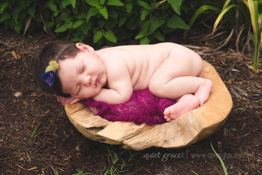Delicate baby girl outdoor pictures Simpsonville SC