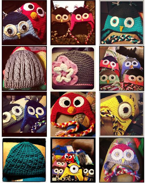 Greenville SC Crocheted children's hats