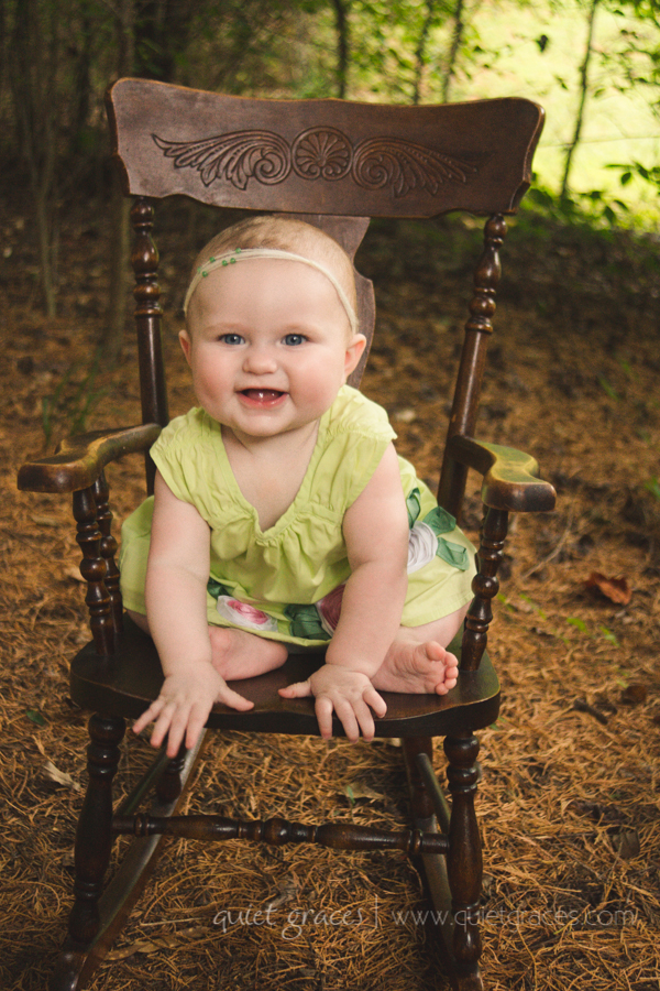 Six Month Baby Plan Photography Greer SC
