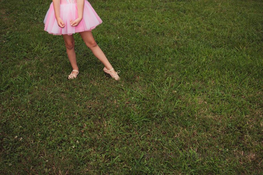 Child Dancing Photoshoot