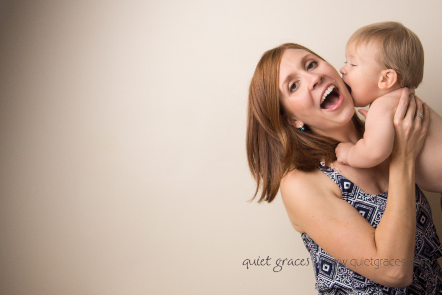 Baby Boy giving mama kisses picture Simpsonville SC