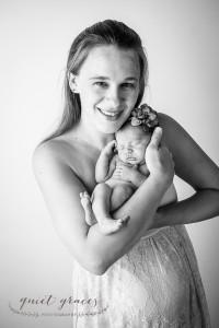 Newborn Baby in mama's arms Simpsonville SC
