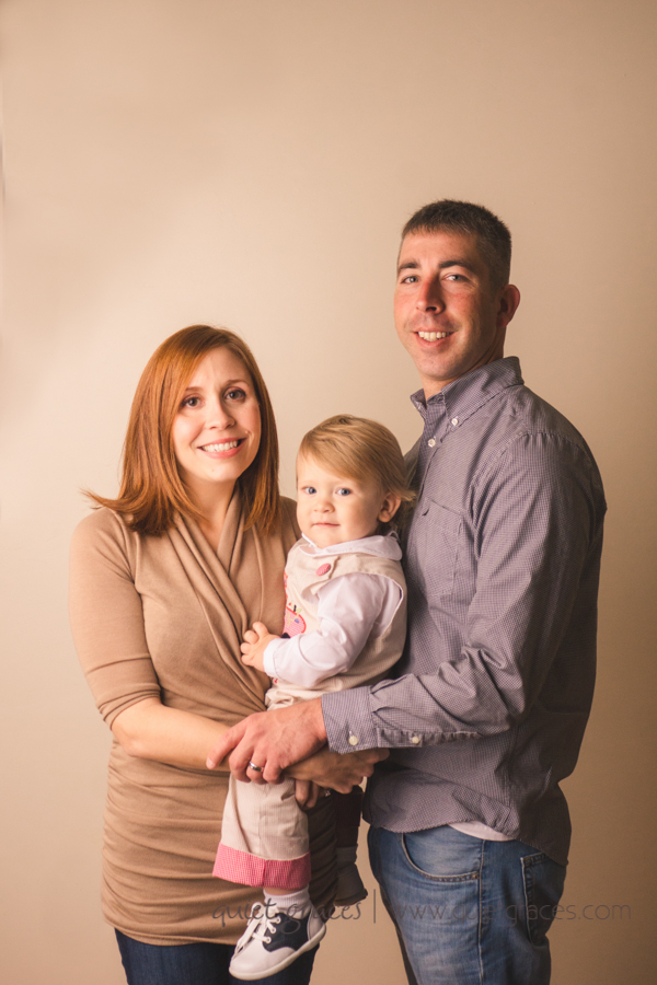 One year old family picture in FIve forks SC
