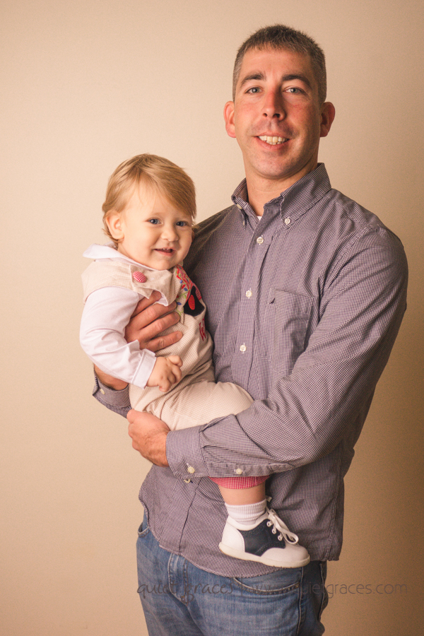 One Year old with Daddy pictures in Five Forks SC
