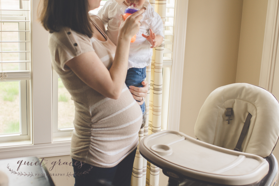 Pregnant mommy with older toddler Simpsonville SC