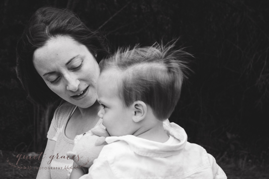 Toddler Boy with Mommy Simpsonville SC