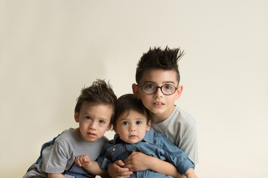 Sibling Portraits in Greenville SC Studio