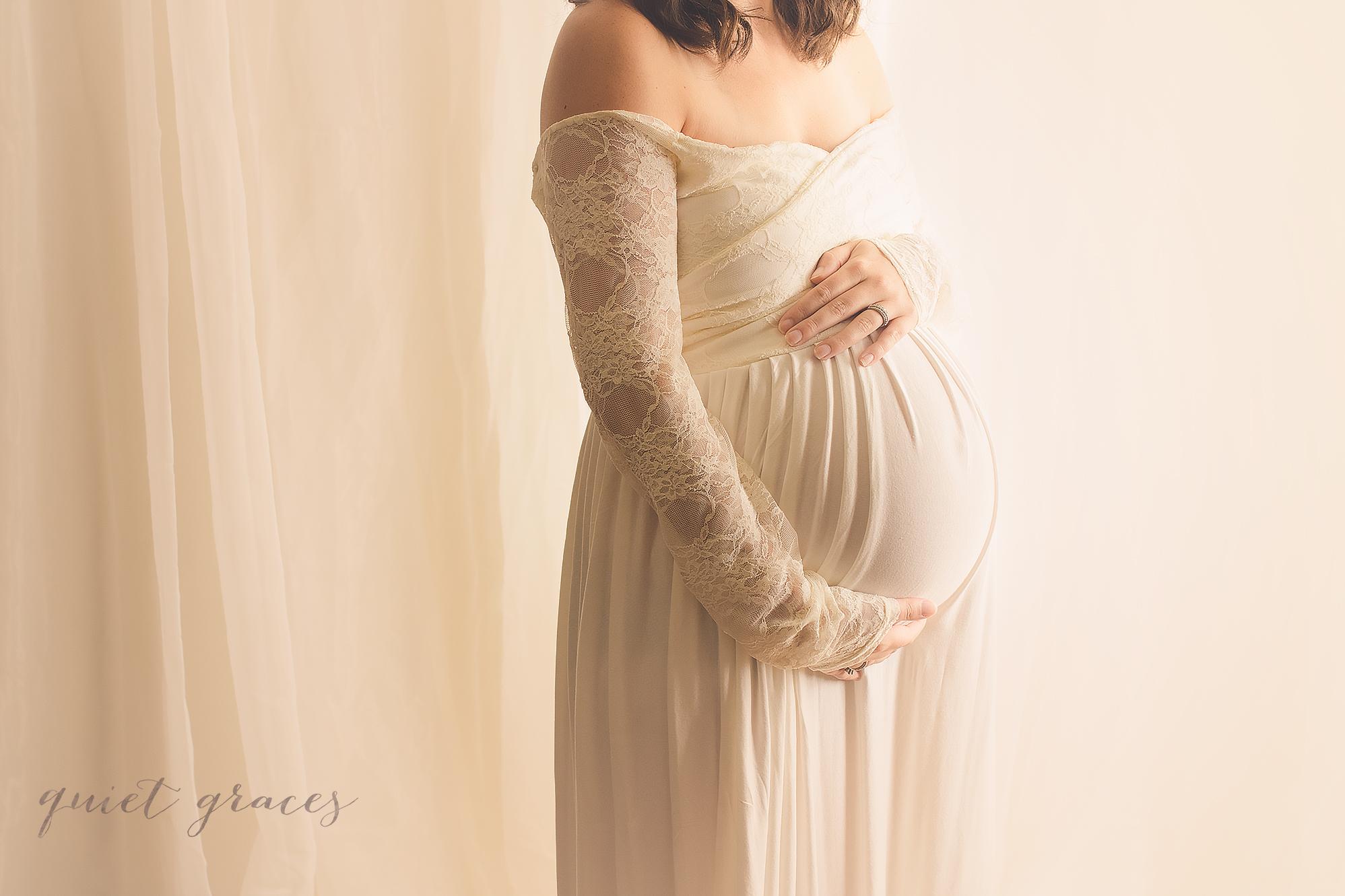 Studio Maternity Session Simpsonville SC