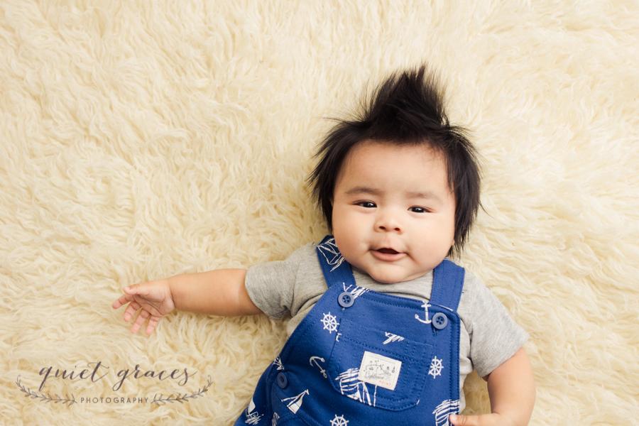 Smiling Baby Boy Photographer