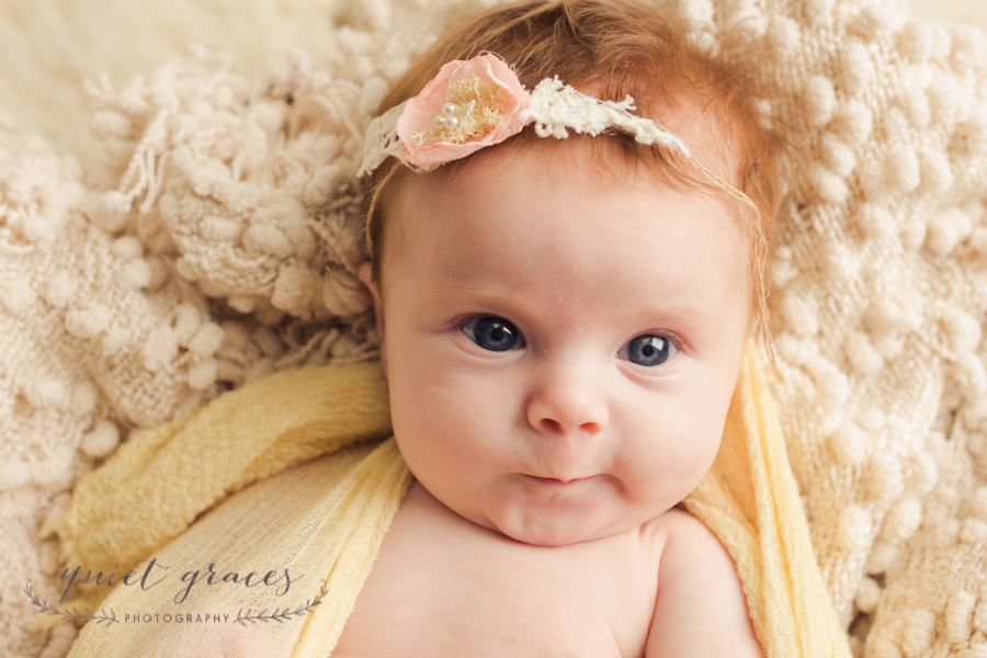 Natural baby girl photos in Greenville SC