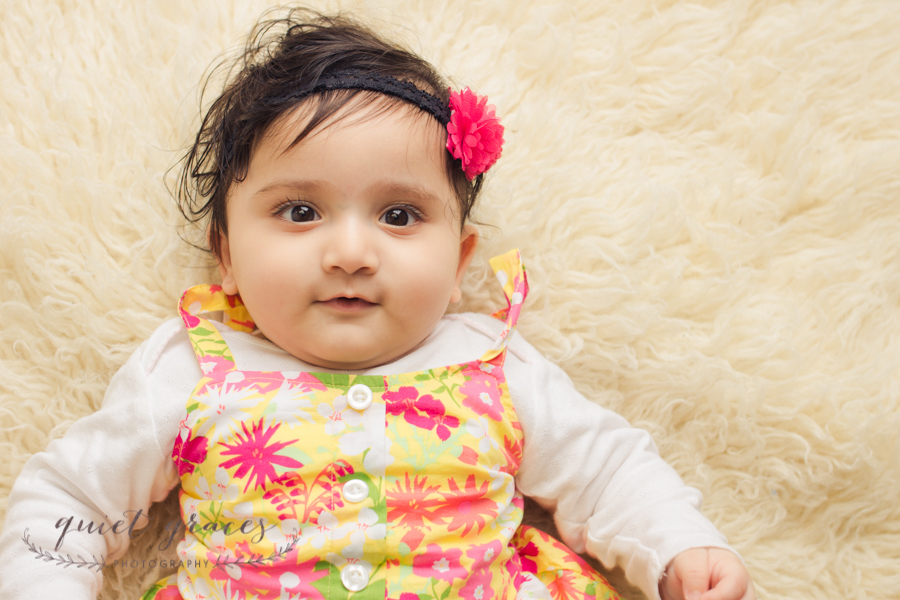 6 Month Baby Phots Greenville SC