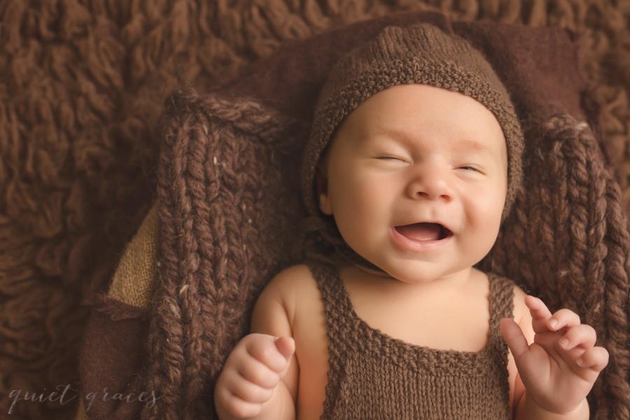 6 week Newborn Baby Boy Pictures Greenville SC