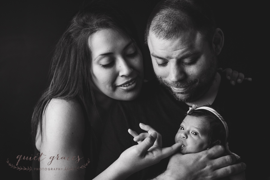 Natural baby photographer greenville sc