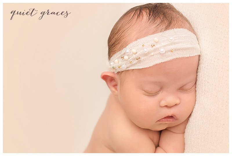 Greenville SC Natural Newborn Photographer Down Syndrome