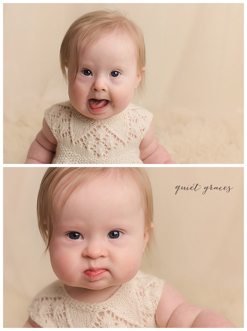Simpsonville SC Baby Photographer Down Syndrome