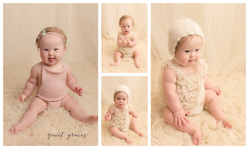 6 month baby photographer greenville sc