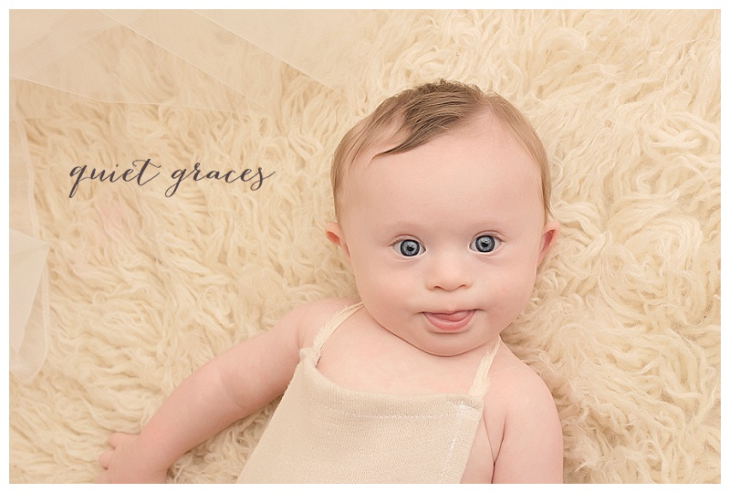 Greenville SC Natural Baby Pictures Down Syndrome