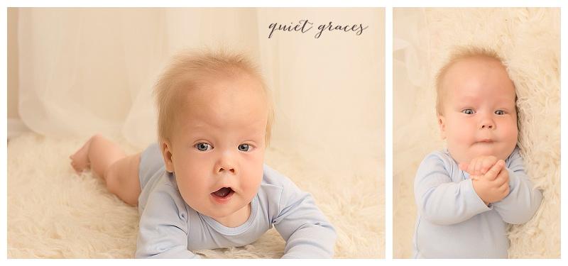 Timeless Baby Photographer Greenville SC