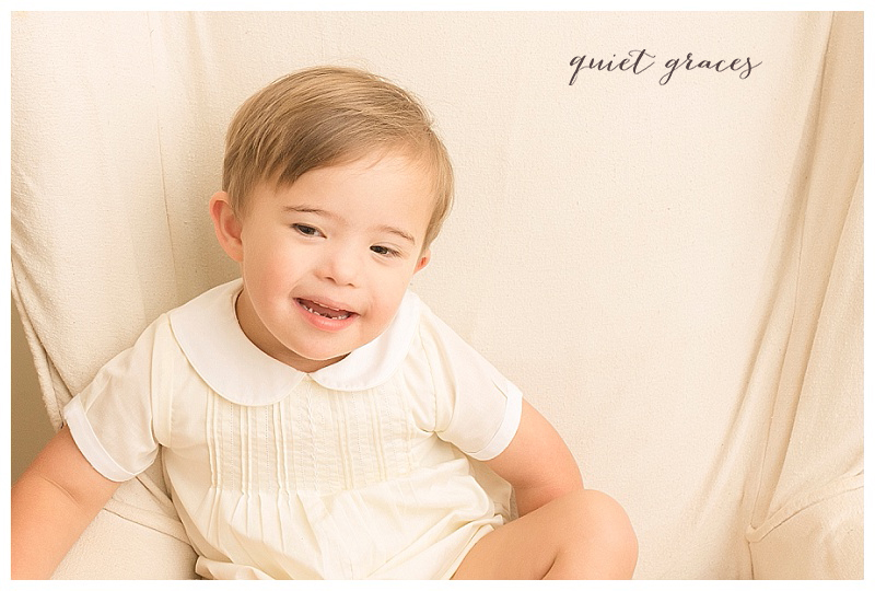 Down Syndrome Awareness Month Greenville SC Child Photographer