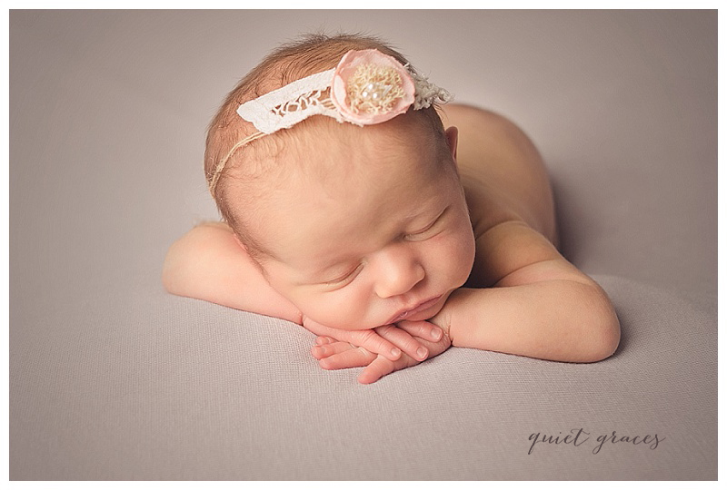 Maya: Natural Simpsonville SC Newborn Photographer