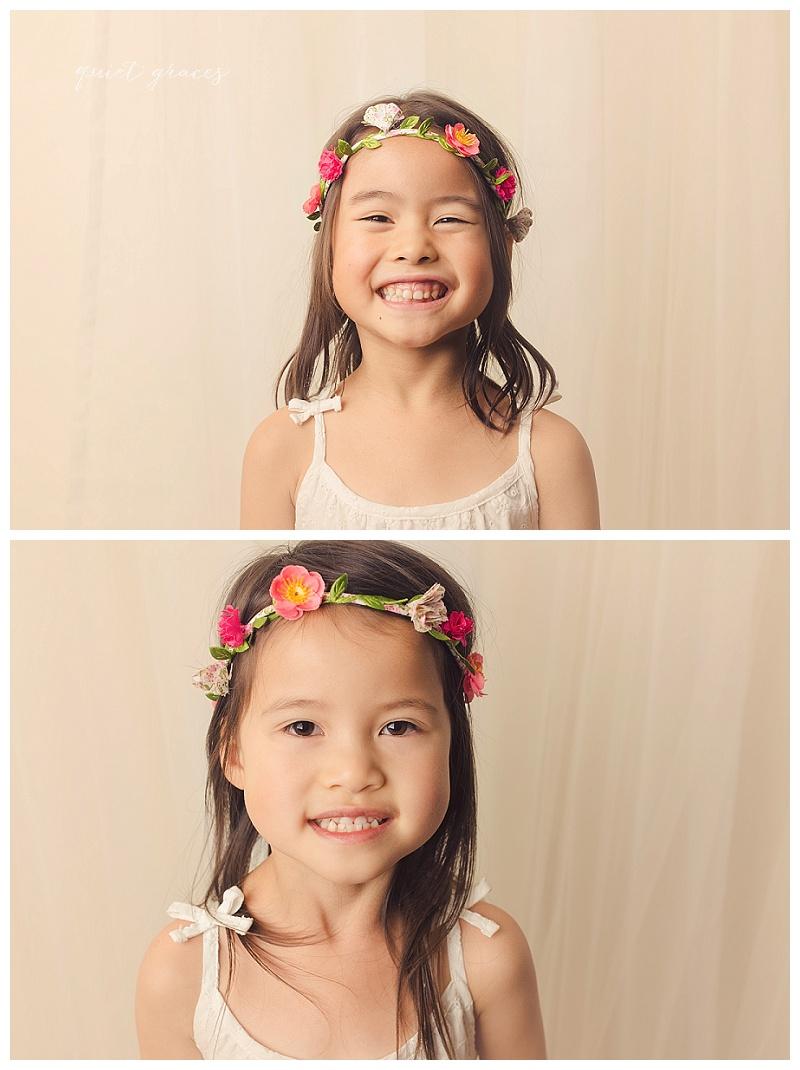 Child studio photography Greer SC