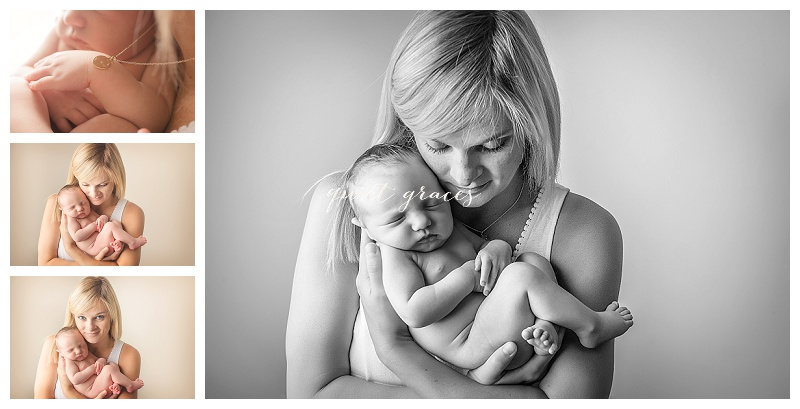 Mommy with Newborn Baby Greenville SC