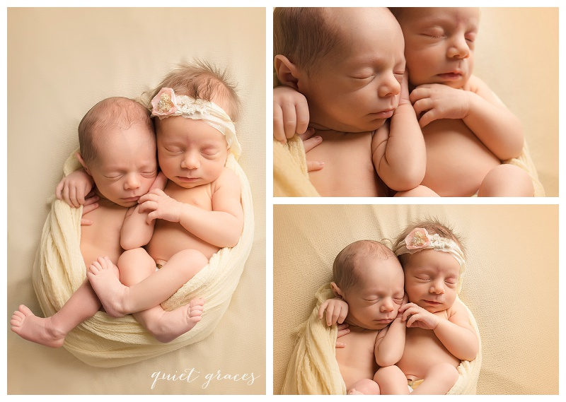 Greenville SC Twin Newborn Photographer