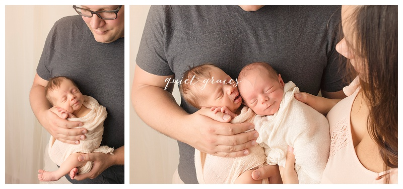 Twin Newborn Baby Photography Greenville SC