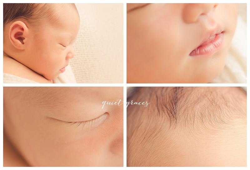 Newborn Close Up Macro Pictures Greer SC