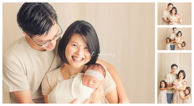 Siblings with Newborn Photography Simpsonville SC