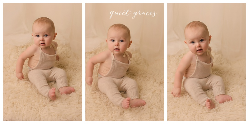 6 Month Sitter Pictures Greer SC6 Month Sitter Pictures Greer SC