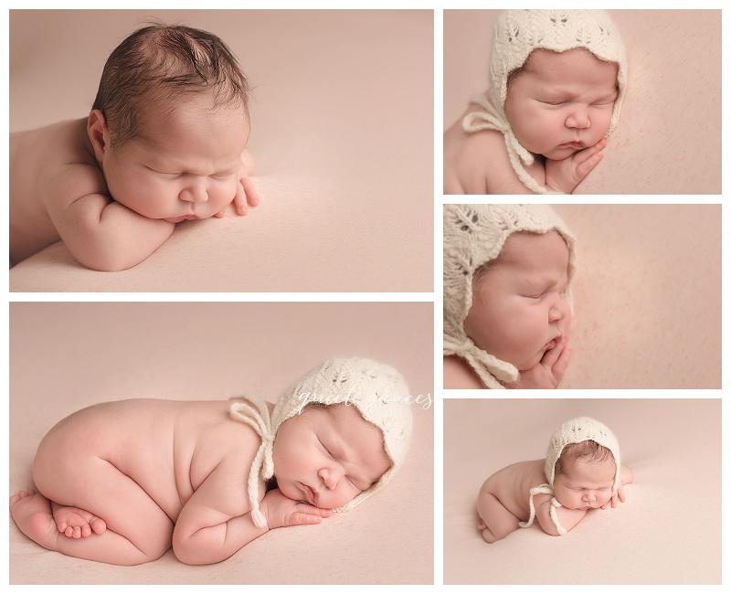 Baby Girl Newborn Photographer Bonnet Greenville SC