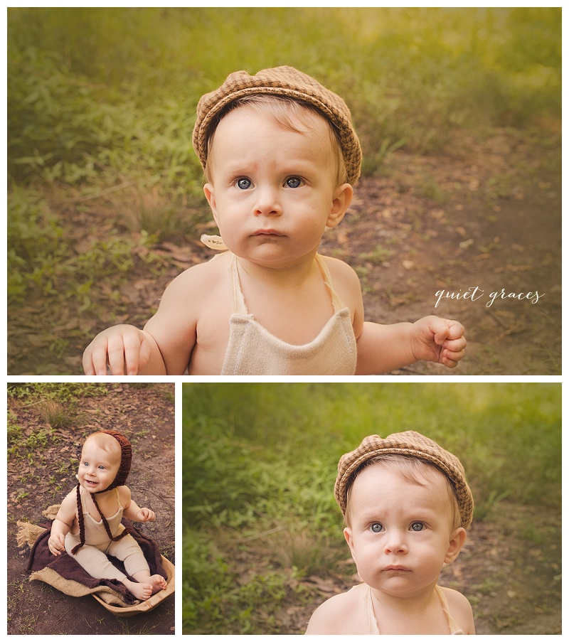 Outdoor Six Month Photography Greer SC
