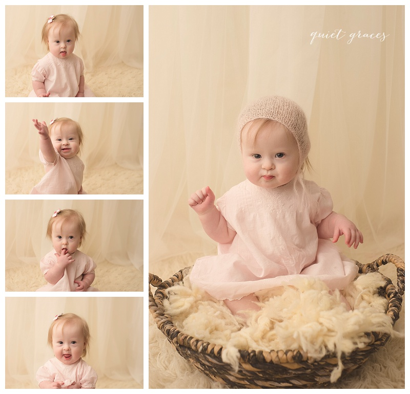 Simpsonville One Year Baby Photographer