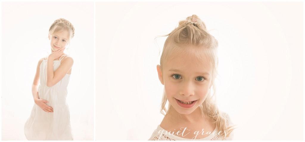 Dreamy White Studio Photography Greenville SC